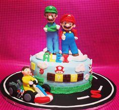 LA DULCE EVA: Tarta Mario Bros