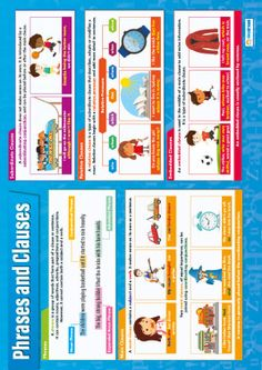 Phrases and Clauses Poster
