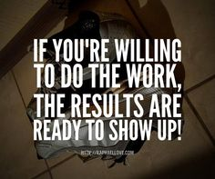 If you're willing to...