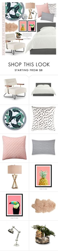 """YOU CAN´T JUST SLEEP HERE..."" by catarina-lau-sousa on Polyvore featuring interior, interiors, interior design, home, home decor, interior decorating, Stellar Works, Pottery Barn, Calvin Klein and Catalina"