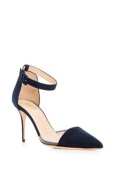 Lucrezia Calf Leather Open Back Heels by GIUSEPPE ZANOTTI (=)
