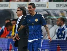 Di Maria one of the five best players in the world,says Argentina boss Gerardo Martino