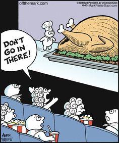 Off the Mark Funny Cartoons, Funny Jokes, Hilarious, Turkey Jokes, Turkey Cartoon, Minions, Thanksgiving Cartoon, Thanksgiving Photos, Kid Memes