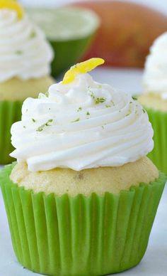 Mango Lime Cupcakes