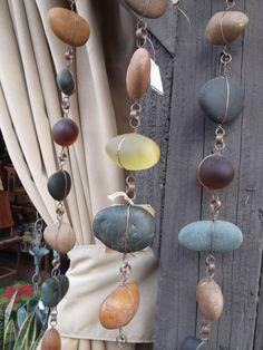 Dekoriere dein Haus mit Kieselsteine, zum Beispiel mit diesen schönen Kreationen! - DIY Bastelideen