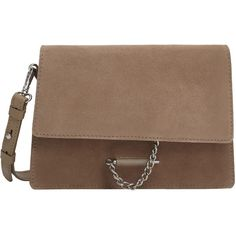 d1c68e2efcc2 MANGO Leather Cross Body Bag ( 80) ❤ liked on Polyvore featuring bags