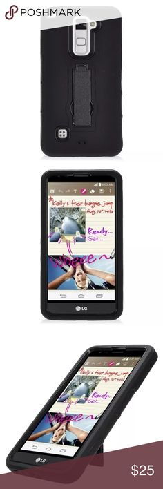 LG Stylo 2 Case BRAND: N/A | TYPE: Hardcover Protective Case | COLOR: Black | CONDITION: NEW | PRICE: Fair | DISCOUNTS: N/A Accessories Phone Cases