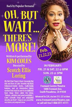 """LAWTF and the FCT partnered with actor and comedian, Kim Coles for the closing weekend of the From The Best of the Fest Benefit Performance with her hit solo show, """"Oh, But Wait, There's More!"""""""