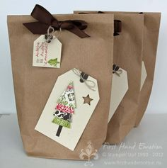 Stampin' UP! Verpackung Adventsgala by First Hand Emotion