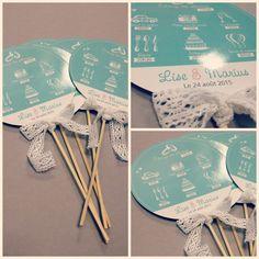 #Mariage Invitez la gourmandise à votre décoration de mariage, toujours plein d'idées sur le Blog de Planet-Cards