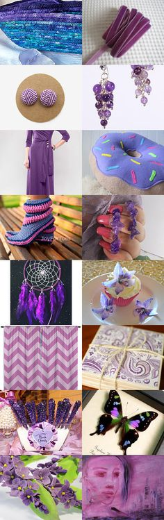 Purple  5 by Svitlana on Etsy-- #etsy #treasury #purple #basket #violet #moses #basket #lavender Pinned with TreasuryPin.com