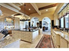 kitchen French country elements I like