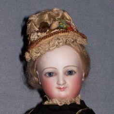 Closeup of Bru Lady - SOLD from Faraway Antique Shop http://farawayantiqueshop.com