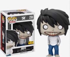 Jeff the killer pop vinyl