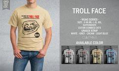 Kaos Distro Troll Face – 9GAG Series - PulauBelanja.Com