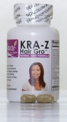 Kra-z Hair Gro Herbal Hair Vitamin Formula  -- I formerly was impressed with Natural Wellbeing's ingredient list, but this one has even MORE deliciousness for hair, skin, and nails!