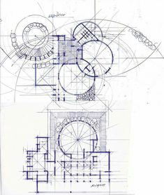 Moltka shabab Architecture Concept Drawings, Architecture Collage, Organic Architecture, Facade Architecture, Sketches, How To Plan, Building Sketch, Organic Form, Mavis