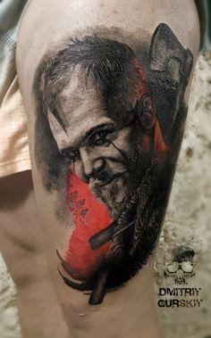 The vikings Floki - realism tattoo   made by gurskiy.dmitriy