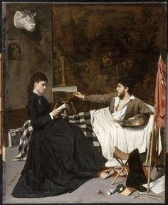 Hippolyte Margottet   Un coin d'atelier   1872