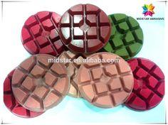 Dry Diamond Polishing Pads for Concrete Floor