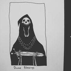 Divine Blessings. by baileyillustration