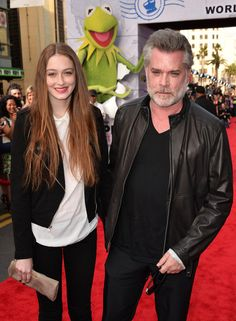 Ray Liotta Photos - Actor Ray Liotta (R) and daughter Karsen Liotta arrive for the premiere of Disney's 'Muppets Most Wanted' at the El Capitan Theatre on March 2014 in Hollywood, California. - 'Muppets Most Wanted' Premieres in Hollywood — Part 4 Hollywood California, In Hollywood, Merritt Wever, Noah Baumbach, Muppets Most Wanted, Robert Altman, Ray Liotta, Spirit Awards, Photo L