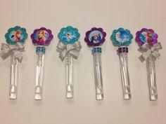 10 Disney Frozen Bubble Wand Birthday Party Bag Favors #Disney
