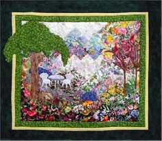 My Side of the Mountain Watercolor Quilt Kit