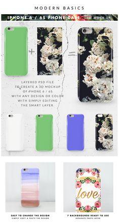 iPhone 6 / 6s Phone Case Design Mockup on Behance