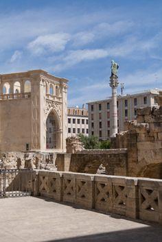 View of Historical Lecce, Puglia, Italy