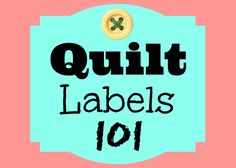 Let's have a chat all about Quilt Labels! In this video you'll learn... - What they are - How to make them - What writing tools & and other techniques to use...