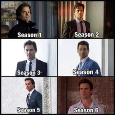 Neal Caffrey through the seasons!