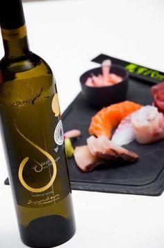 "Shisu Bar at Myconian Imperial Resort, Greece suggests Sushi and ""Tear of the Pine"" Retsina!"