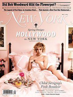 Chloe in pink Bedroom.