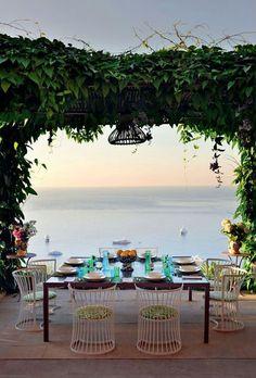 Beautifully Framed in Capri