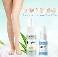 Hair Removal and Prevention Spray - Natural Ingredient Herbal Hair Removal Spray – Pandora Crate Hair Removal Spray, Natural Hair Removal, Hair Removal Cream, Laser Hair Removal, Natural Skin, Curly Hair Styles, Natural Hair Styles, Unwanted Hair, Unwanted Facial