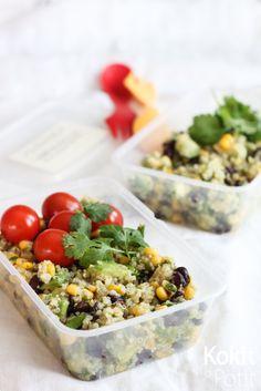 Kokit ja Potit: Meksikolainen kvinoasalaatti ja muut evässalaatit