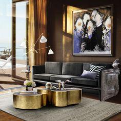 Wave Center Table by Boca do Lobo | Interior Design, Luxury Furniture, Exclusive…