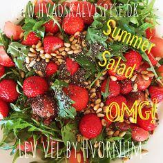 Jordbær salat.