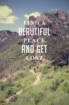 With so much tech at our fingertips we're losing our sense of wander and exploration. Getting lost on occasion is a good thing.