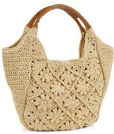 Straw Studios Crochet Hobo Bags
