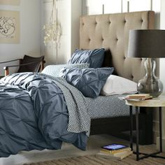 Diamond Tufted Headboard from west elm