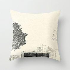 (500) Days of Summer Throw Pillow by Martin Lucas - $20.00