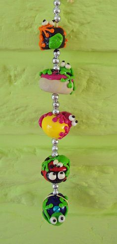fimo frogs hanger | Flickr - Photo Sharing!