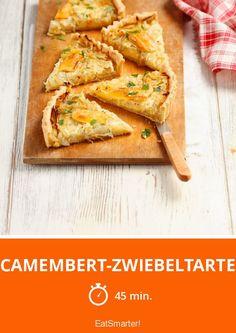 Camembert-Zwiebeltarte