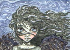 ACEO-A Darkling Starry Night by KootiesMom on deviantART