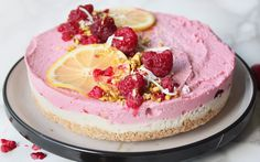 <p>This raspberry lemon, and coconut, cheesecake is the perfect cake for any occasion. </p>