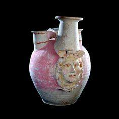 Greek Terracotta Funerary Vessel - PF.5610 Origin: Canosa, Italy Circa: 400 BC to 300 BC