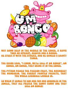 Umbongo, Umbongo they drink it in the Congo.