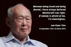 Image result for lee kuan yew quotes Lee Kuan Yew Quotes, Always Believe, Image